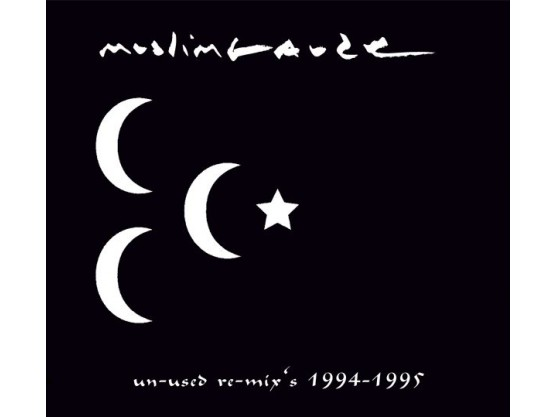 """Muslimgauze """"Un-used Re-mix's 1994-1995"""" cover"""