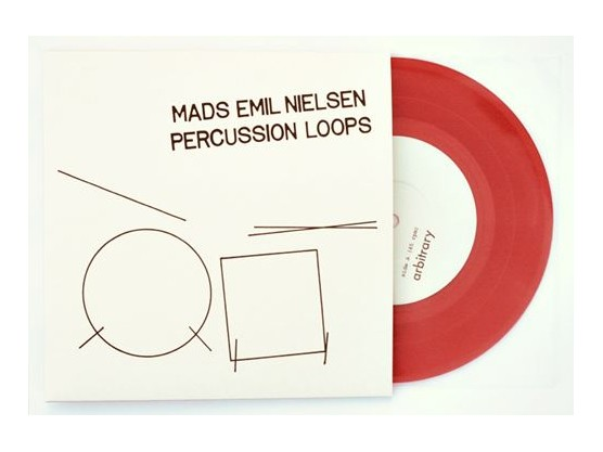 "Mads Emil Nielsen ‎""Percussion Loops"" cover"