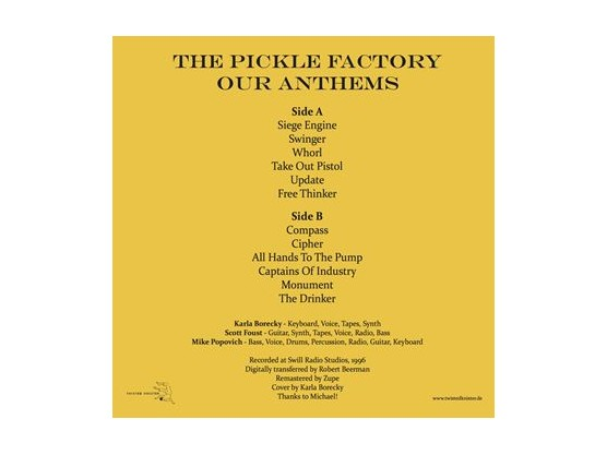 "The Pickle Factory ""Our Anthems"" #2"