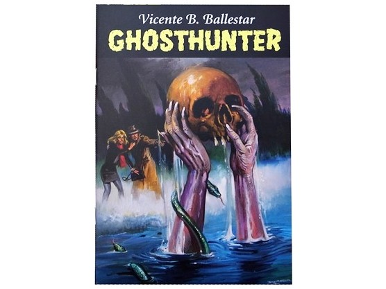 "Vicente B. Ballestar ""Ghosthunter"" cover"