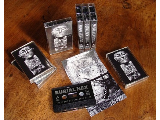 """Burial Hex """"The Spoils Of Feral Love Vol. II"""" cover"""