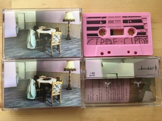 """Girls On Tape """"At Home"""" cover"""