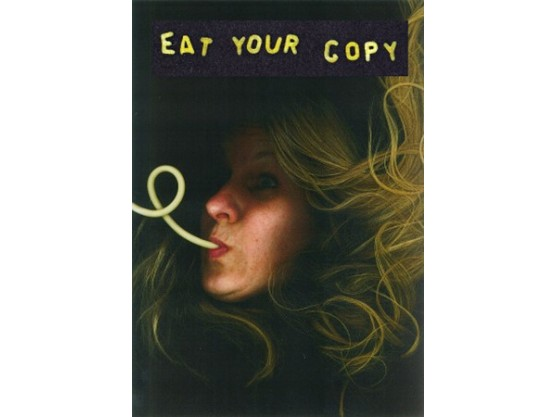 "V.A ""Antipodes #008: Eat Your Copy"" cover"