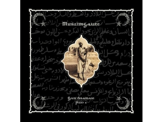 "Muslimgauze ‎""Gun Aramaic Part 2"" cover"