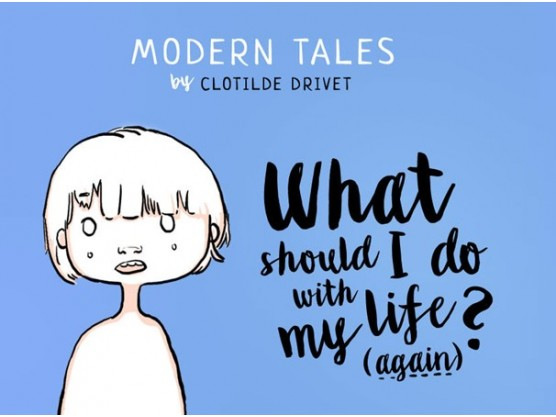 "Clotilde Drivet ""What Should I Do With My Life (Again)?"" cover"
