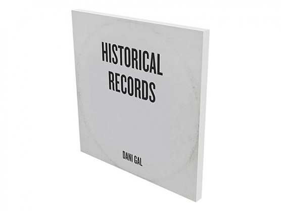 "Dani Gal ""Historical Records"" cover"
