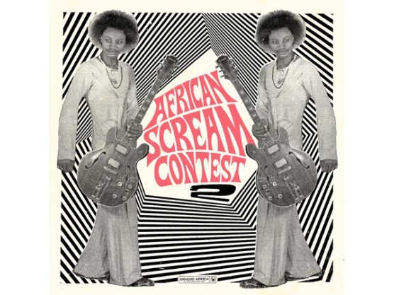 "V.A ""African Scream Contest 2"" cover"