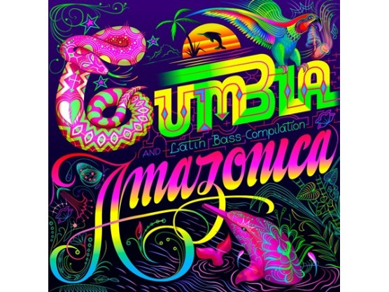 "Various Artists ""Cumbia Amazonica"" cover"