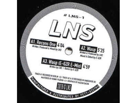 """LNS """" Recons One"""" cover"""