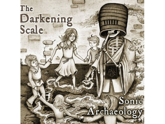 "The Darkening Scale ""Sonic Archaeology"" cover"