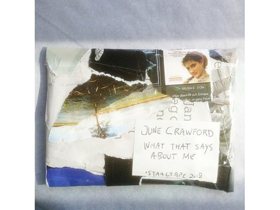 "June Crawford ""What That Says About Me"" cover"