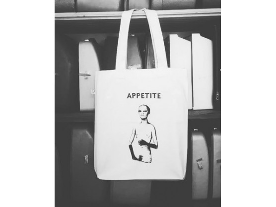 "Layla Tibbe ""Appetite (White)"""