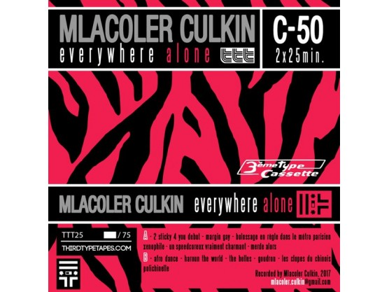 "Mlacoler Culkin ""Everywhere Alone"" Cov"