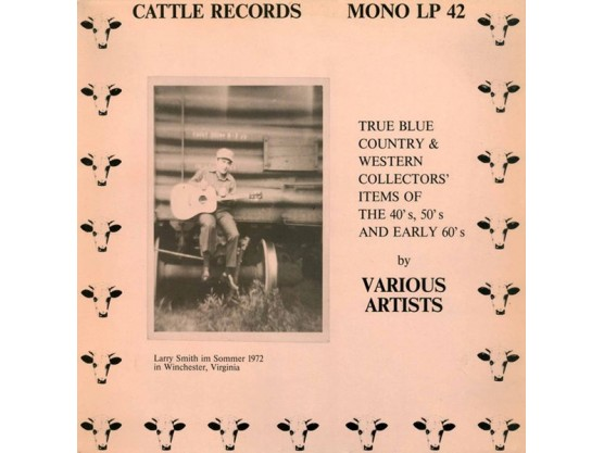 "V.A. ""Blue Country & Western Collector's Items"" Cov"