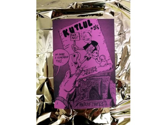 "Various Artists ""Kutlul #9 1/2"" Cov"