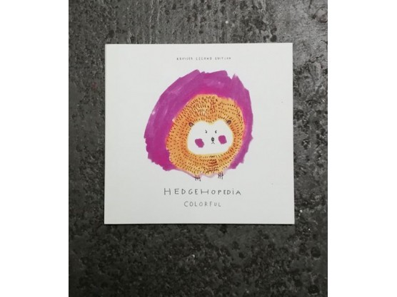 "Ilya Kreines ""Hedgehopedia Colorful"" Cov"
