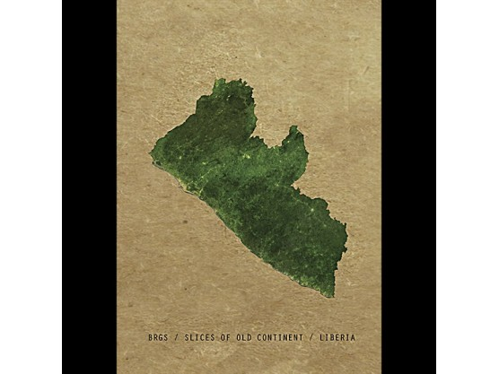 """Brgs """"Slices of the old continent - Liberia """" Cover"""