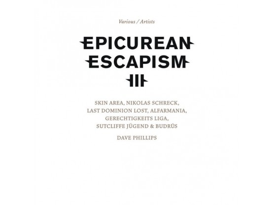 "V.A. ""Epicurean Escapism III"" Cov"