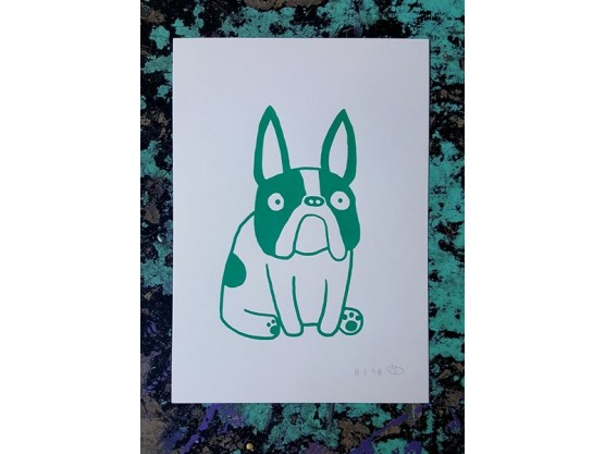 "Fox Italic ""Frenchie Klein"" Cov"
