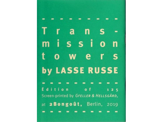"""Lasse Russe """"Transmission Towers"""" #3"""