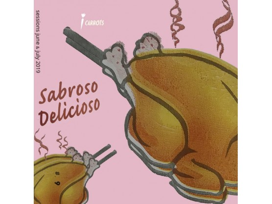 "Carrots Tapes ""Sabroso Delicioso"" Cover"