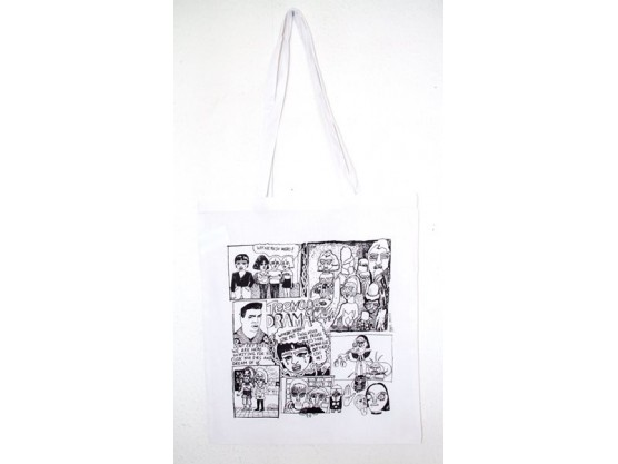 "Ainize Sarasola ""Teenage Drama Tote Bag"" Cov"