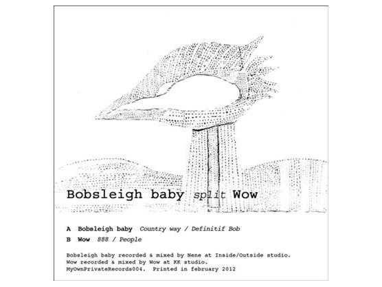 """Bobsleigh Baby, Wow """"Bobsleigh Baby Split Wow"""" cover"""