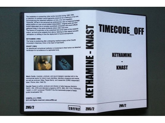"V.A ""Timecode_Off"" cover #2"