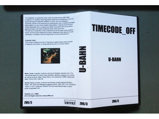 "V.A ""Timecode_Off"" cover #3"