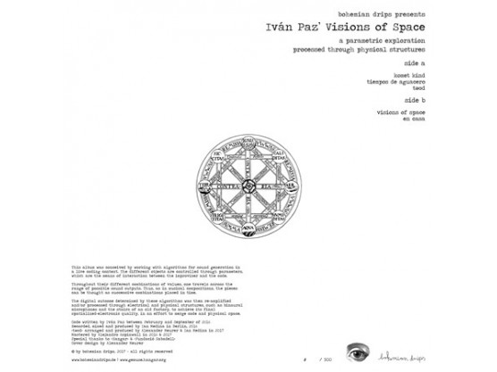 """Iván Paz """"Visions Of Space (Deluxe Edition)"""" #2"""
