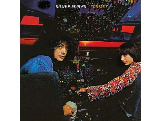 """Silver Apples """"Contact"""" cover"""