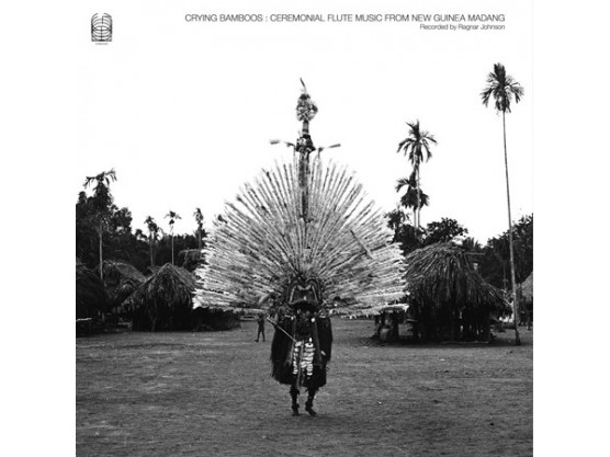 """Ragnar Johnson """"Crying Bamboos: Ceremonial Flute Music From New..."""" cover"""