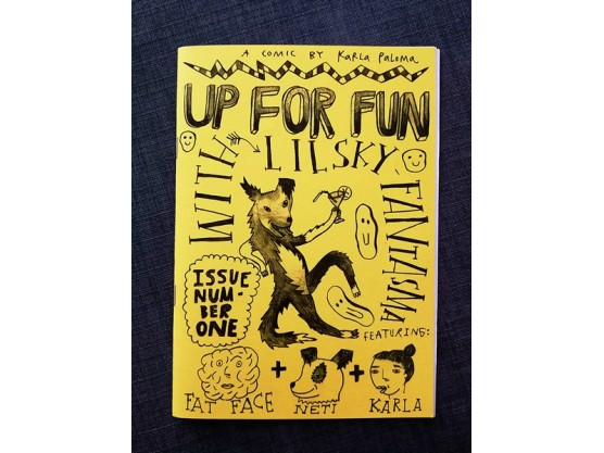 """Karla Paloma """"Up For Fun"""" Cover"""