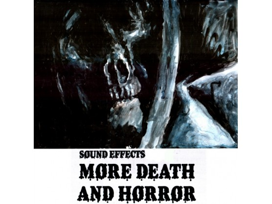"""Evil Moisture """"More Death and Horror 2"""" Cover"""