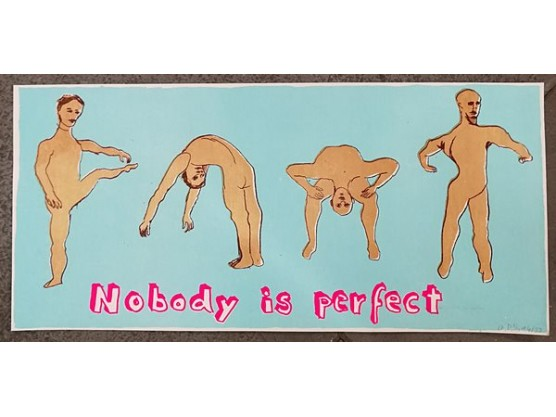 "Olivia Pils ""Nobody Is Perfect Yoga"" Cov"