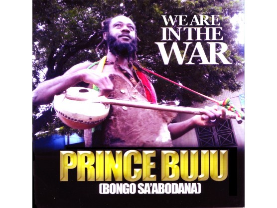 """Prince Buju 'We Are In The War"""" Cover"""