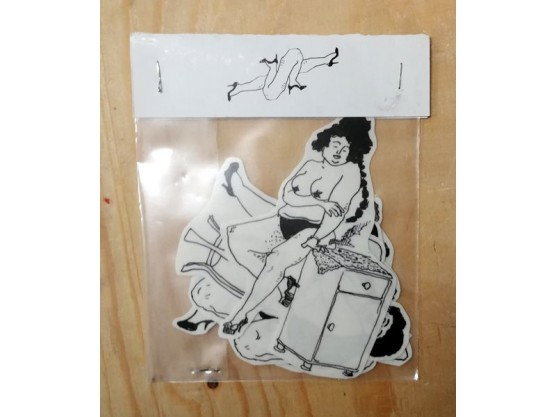 "Bilge Emir ""Women Sticker Pack"" Cov"
