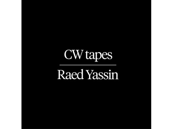 "Raed Yassin ""CW Tapes"" Cover"